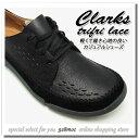 クラークス 靴 メンズ カジュアル CLARKS TRIFRI LACE 821E B(ブラック) レースアップシューズ コンフォートシューズ クラークス2017年秋冬新作