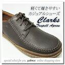 クラークス 靴 メンズ カジュアル CLARKS TRAPELL APORON 818E DBR レースアップシューズ ダークブラウン セール