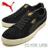 PUMA(プーマ)CLYDE URB(クライド アーバン)ブラック [靴?スニーカー?シューズ]