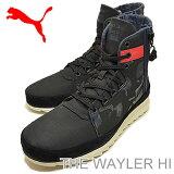 PUMA(プーマ)THE WAYLER HI(ザ ワイラー ハイ)ブラック/ミッドナイトネイビー/ビタースウィート [靴?スニーカー?シューズ]