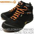 MERRELL(メレル)CHAMELEON II STORM MID GORE-TEX XCR(カメレオン II ストーム ミッド ゴアテックス XCR)ブラック [靴・スニーカー・シューズ] 【smtb-TD】【saitama】
