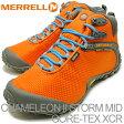 MERRELL(メレル)CHAMELEON II STORM MID GORE-TEX XCR(カメレオン II ストーム ミッド ゴアテックス XCR)オレンジ [靴・スニーカー・シューズ] 【smtb-TD】【saitama】