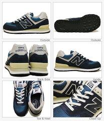 newbalance(ニューバランス)ML574ネービー(ヴィンテージ)[靴・スニーカー・シューズ]