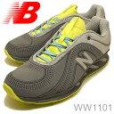 【20131013】new balance(ニューバランス)WW1101GRAY/GREEN(グレー/グリーン) [靴・スニーカー・トーニングシューズ・ウォーキングシューズ]