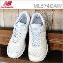 new balance ニューバランス ML574 DAW WHITE ホワイト 靴 スニーカー シューズ クラシック レトロランニング 【あす楽対応】