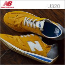 new balance ニューバランス U320AK YELLOW イエロー 靴 スニーカー シューズ クラシック レトロランニング