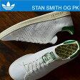 adidas ORIGINALS アディダス オリジナルス STAN SMITH OG PK スタンスミス OG プライムニット ランニングホワイト/ランニングホワイト/チョークホワイト(グリーン) 靴 スニーカー シューズ 【smtb-TD】【saitama】【RCP】