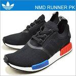 adidas ORIGINALS アディダス オリジナルス NMD_RUNNER PK エヌエムディー ランナー PK コアブラック/コアブラック/ラッシュレッド 靴 スニーカー シューズ