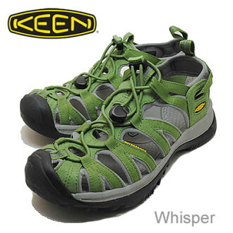 KEEN (keen) Whisper (whisper) jade green/neutral grey