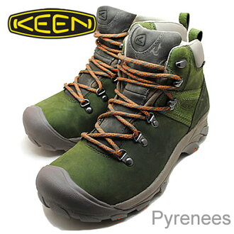 KEEN Pyrenees black / Forest [shoes, sneakers shoes] [smtb-TD] [saitama]