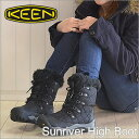 KEEN( Kean )Sunriver High Boot( Sun River high boots )Black/Black( black / black) [shoes, winter boots shoes] [smtb-TD] [saitama] [RCP]