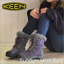 KEEN( Kean )Sunriver High Boot( Sun River high boots )Sweet Grape/Gargoyle( suite grape / gargoyle) [shoes, winter boots shoes] [smtb-TD] [saitama] [RCP]