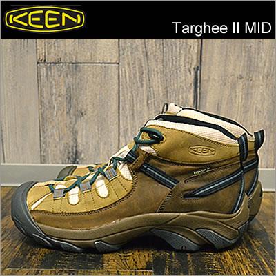 KEEN(キーン)Targhee II MID(ターギー II MID)Nutmeg/Sand(ナツメグ/サンド) [靴・ブーツ・シューズ] 【smtb-TD】【saitama】