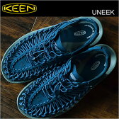 KEEN キーン Uneek 3C ユニーク スリーシー DEEP WATER/WHITE ディープウォーター/ホワイト メンズ レディース 靴 スニーカー シューズ サンダル モノトーン 【smtb-TD】【saitama】