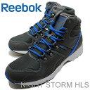 Reebok(リーボック) NIGHT STORM HLS(ナイトストームHLS)リヘッドグレー/フレンチブルー/ホワイト/グラベル [靴・スニーカー・ランニングシューズ] 【RCP】