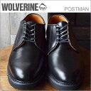 WOLVERINE ウルヴァリン POSTMAN SHOES ポストマン シューズ BLACK ブラック 靴 シューズ 【smtb-TD】【saitama】