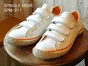 【返品無料対応】 SPINGLE MOVE スピングルムーヴ スピングルムーブ SPM-211 WHITE ホワイト 靴 スニーカー ベルクロシューズ スピングル 【あす楽対応】【smtb-TD】【saitama】