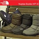 THE NORTH FACE(ザ ノース フェイス)Nuptse Bootie WP III(ヌプシ ブーティー ウォータープルーフ 3)【4色】 [靴・スニー...