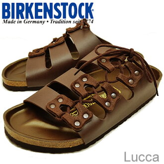 BIRKENSTOCK( ビルケンシュトック) Lucca( Luke) dark brown [shoes, sandals shoes] [smtb-td] [RCPfashion]