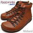 【20140124】BIRKENSTOCK Footprints(ビルケンシュトック フットプリンツ)Midland(ミッドランド)ブラウン/ダークブラウン [靴・ブーツ・シューズ] 【smtb-TD】【saitama】