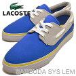 LACOSTE(ラコステ)BARBUDA SYS LEM(バルブーダ SYS LEM)BLU/LT GRY(ブルー/ライトグレー) [靴・スニーカー・デッキシューズ] 【smtb-TD】【saitama】