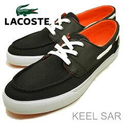 LACOSTE(ラコステ)KEELSAR(キールSAR)BLK/BK(ブラック/ブラック)[靴・スニーカー・シューズ]【smtb-TD】【saitama】【RCP】
