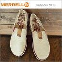 MERRELL メレル DUSKAIR MOC ダスクエアー モック WHITECAP ホワイトキャップ 靴 スニーカー シューズ 軽量 スリップオン