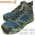 MERRELL(メレル)PROTERRA MID SPORT GORE-TEX(プロテラ ミッド スポーツ ゴアテックス)SKYLAB/GRANITE(スカイラブ/グラナイト) [靴・スニーカー・シューズ・ハイキング]