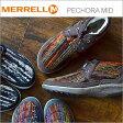 MERRELL メレル PECHORA MID ペコラ ミッド レディース 靴 スニーカー コンフォート シューズ