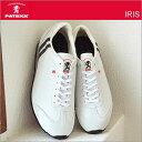 【あす楽対応】【返品無料対応】 PATRICK パトリック IRIS アイリス WT/BK ホワイト/ブラック 【23501】 靴 スニーカー シューズ