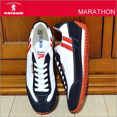 【返品無料対応】 PATRICK パトリック MARATHON マラソン WHT ホワイト 【9420】 靴 スニーカー シューズ 【smtb-TD】【saitama】【楽ギフ_包装】