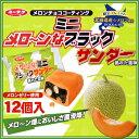 (ユーラク製菓)【メローンなミニブラックサンダー】袋入り 12個入