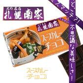 おもしろい 札幌 スープカレーチョコ 北の名店 南家【北海道限定】おすすめはできません【常】