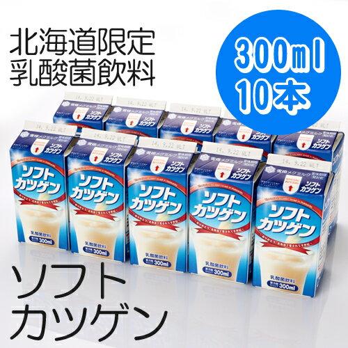 【雪印メグミルク】ソフトカツゲン 300ml×10本【北海道ご当地ドリンク】