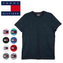 ショッピングBrand トミーヒルフィガー Tシャツ メンズ レディース TOMMY HILFIGER ミニフラッグロゴ ワンポイント 半袖 ブランド 大きいサイズ オーバーサイズ