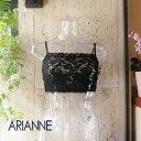 アリアンヌ ARIANNE piikabuシリーズミニキャミ ブラカバーレース ブラック S、M、L