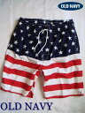 【送料無料】 OLD NAVY オールドネイビー Men's Board Shorts メンズ スイムウェア・サーフパンツ・水着/Navy Star【あす楽対応】