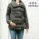 TATRAS タトラス LTA17A4488 LORENZANA レディース ダブルボタン ダウンジャケット BLACK ブラック
