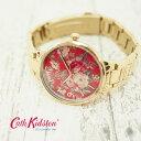 Cath Kidston キャスキッドソン 腕時計 レディース 36mm ガーデンローズ ゴールド レディース ウォッチ CKL001GM