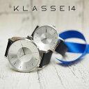 KLASSE14 クラス14 腕時計 ペアウォッチ メンズ レディース 36mm&42mm VOLARE シルバー×ブラック クラスフォーティーン