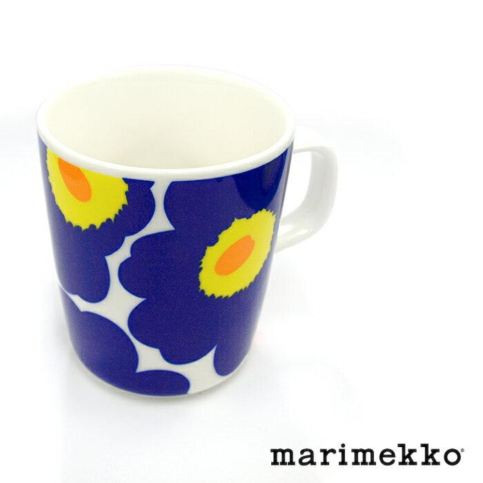 MARIMEKKO マリメッコ UNIKKO ウニッコ 063431 マグカップ 250ml 002/ダークブルー
