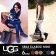 【送料無料】【正規品】 UGG アグ 5854 CLASSIC MINI ウィメンズ クラシックミニ ムートンブーツ 全6色 チェスナット/グレー/サンド/ネイビー/ブラック/チョコレート