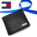 TOMMY HILFIGER トミーヒルフィガー 二つ折り財布 ブラック トミーヒルフィガー 財布 31TL130049 トミーヒルフィガー 財布