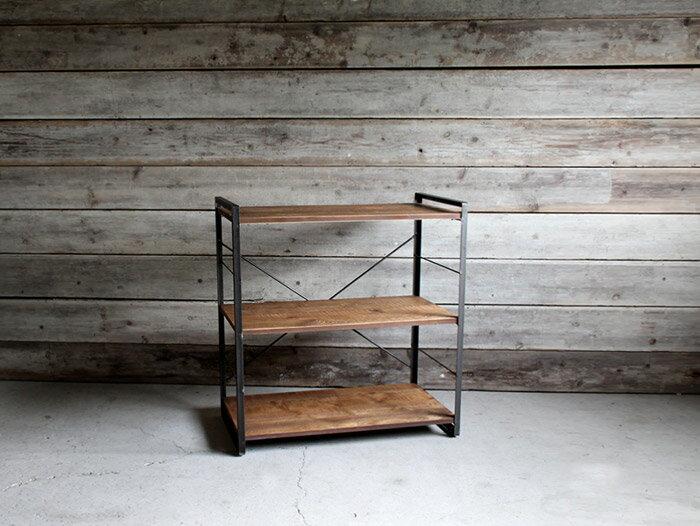 [ポイント5倍]iron shelf 900(S) アイアンシェルフ 900(S)インダストリアルな空間にぴったり メンズライクな渋いシェルフ 送料無料