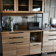 【予約受付中】splem kitchen board 1200 スプレム キッチンボード 1200 オーク材の木目が美しいキッチンボード(9上旬〜中旬以降発送予定)