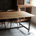 [周年祭]モリード ワーキングテーブル 1600 molid working table 1600 シンプルながらも、どっしりとしたワークテーブルの様な印象のフォルムのメンテナンスしやすい幅160cmのテーブル[クーポン利用可]