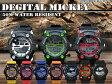 【送料無料】【Disney】 ミッキースポーツデジタルウォッチディズニー 腕時計 メンズレディース キッズ 5気圧 防水アラーム 機能 付きあす楽対応