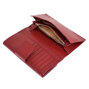 BVLGARI 33744ブルガリ 長財布レッド系 ★☆正規品・新品・未使用品・送料無料