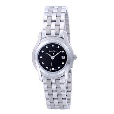 GUCCIYA55504L12P-BLKグッチ時計Gクラス レディース腕時計 ★☆正規品・新品・未使用品