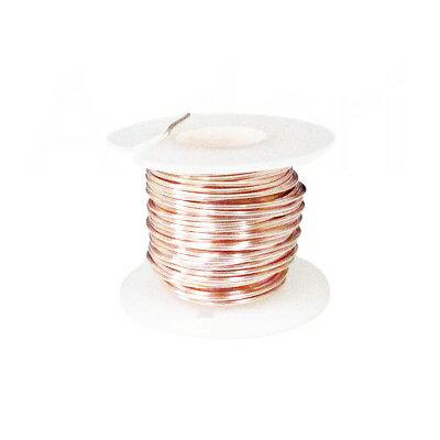 アーティスティックワイヤーローズゴールド28号(約0.3mm)30号(約0.25mm)(1巻 約10m)├ ArtisticWire アーティスティック ワイヤー ワイヤーワーク ワイヤーアート アクセサリー パーツ チェコビーズ イヤリング 指輪 ┤